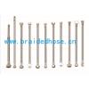 304不锈钢编织软管热水器马桶接水管